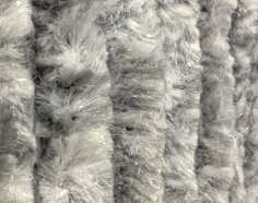 Cattail Fly Curtain Mottled Grey-White